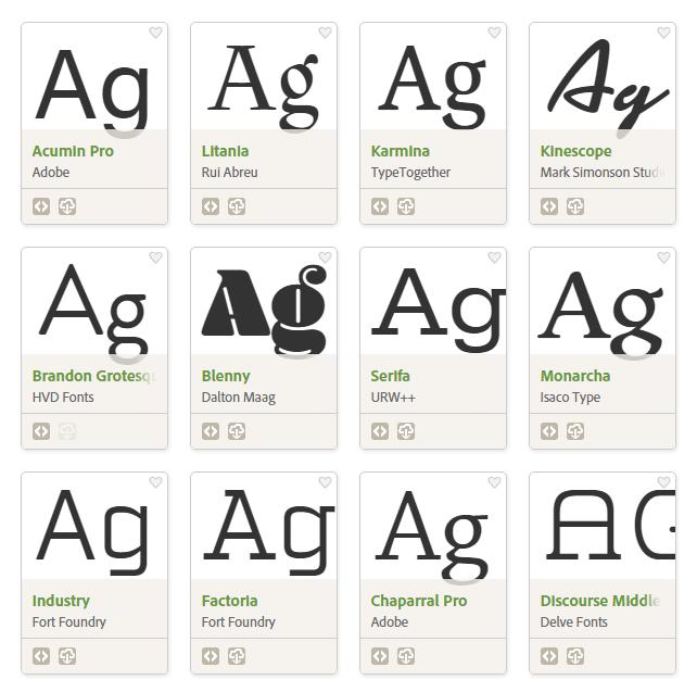 Industry Adobe Fonts